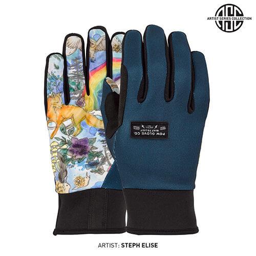 POW rukavice All Day Rainbow