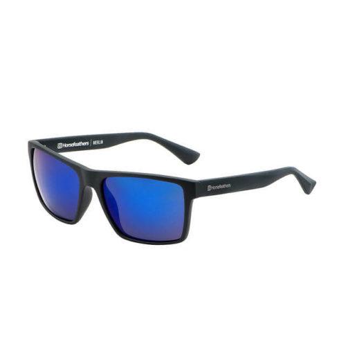 merlin matt black-blue